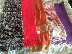 Different scarves