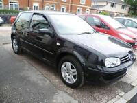 VOLKSWAGEN GOLF 1.9 GT TDI 110 (black) 2001