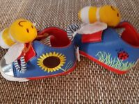 NEW Shoes, Playtoes - Shoes to Stimulate Baby's Senses - Bumblebee Design size 19