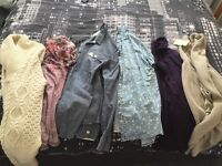 River island and top shop tops