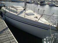 Jeaneau Brio. A small sailing cruiser for sale. Price reduction must sell