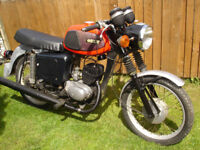 mz ts 150 1979 mot a tax excempt next year 39 years old,classic motorcycle