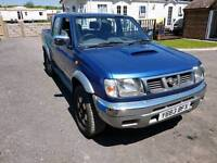 NOW SOLD Nissan navara d22 2.5td spares or repair runs fine export
