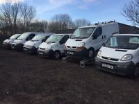 VAUXHALL VIVARO, RENAULT TRAFIC, NISSAN, FORD TRANSIT FOR SALE ALL WITH YEARS MOT & WARRENTY 💳