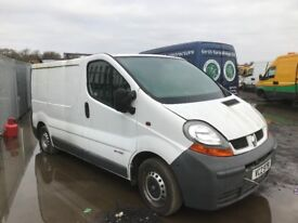 Renault trafic Vauxhall vivaro spare parts available