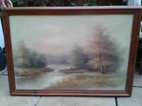 Original large oil painting on canvas
