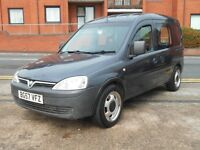 57 VAUXHALL COMBO 1.7CDTI + MULTI PURPOSE VEHICLE +