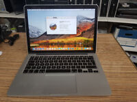 Apple MacBook A1502 13 intel Core i5- 2.6GHz 8GB RAM 128GB SSD clearance
