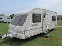 BAILEY PAGEANT BORDEAUX 2001 4 BERTH FIXED BED WITH REMOTE MOTOR MOVER