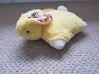 Pillow pet. Rabbit, lemon and white