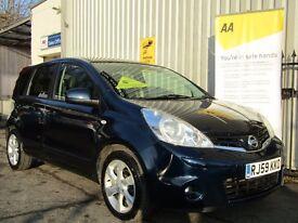 Nissan Note 1.5 dCi Tekna 5dr, p/x welcome Satnav+Bluetooth+Parking Aid