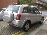 TOYOTA RAV4 XT3 NEW SHAPE 2004 ##### 5 DOOR 4X4 JEEP ##### HATCHBACK