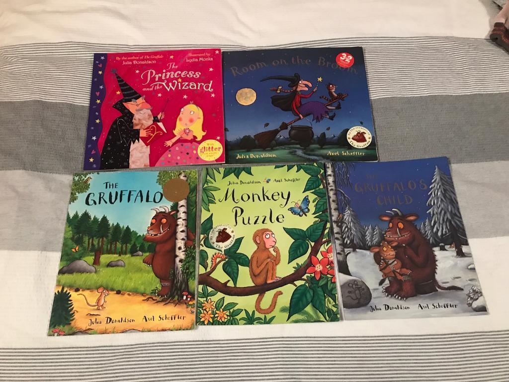 Kids books by Julia Donaldson and Axel Scheffler