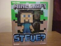 Minecraft 6-inch Steve Vinyl Figure - Bargain Brand new unopened in the box (Collectible)