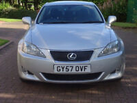LEXUS IS 2.2 220D SE 4d 175 BHP LEATHER TRIM++ PARKING SENSORS FULL SERVICE RECORD (9 STAMPS)