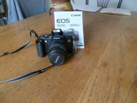 Cannon EOS 5000 SLR camera