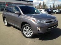 2013 Toyota Highlander Hybrid Comfort Package AWD, Factory warra