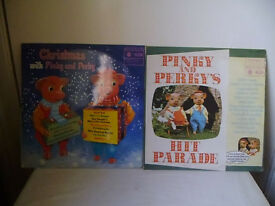 2 X PINKY & PERKY L.P. RECORDS FROM 1960'S