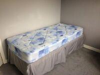 Single bed plus roll away