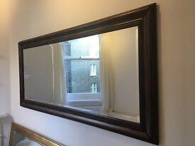 Large Mahogany Mirror - Very Stylish
