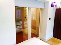 double room, all bills included, zone 1, fully furnished, Kensington, internet, local shops
