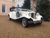 Vintage wedding car Limousines
