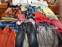 Boys clothes bundle age 4-6. Large bundle includes Gap, Next,Kangol and Peter Storm