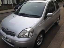 Toyota Yaris 2004 3 doors automatic superb engine&gearbox drives very smooth long mot hpi clear