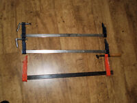 2 ft Sash Clamps x 3