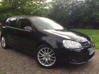 2007 Volkswagen Golf 2.0 GT TDI Automatic DSG 5dr big Screen SATNAV/DVD/CD Not fr Bmw focus astra