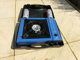 Camping Gas Hob With Gas x 2 - Ascot