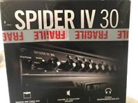 Electric guitar with SPIDER IV 30( line 6)