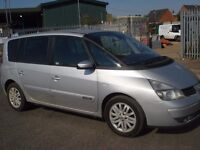 Renault Espace 1.9 DCI Dynamique Diesel 7 seater NEW 12 MONTH MOT New Clutch Cambelt and Waterpump