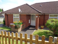 2 bed bungalow for over 55s Somerset