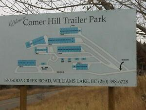 VIEW PARK for Mobile Home - Pad Rent Williams Lake Cariboo Area image 2