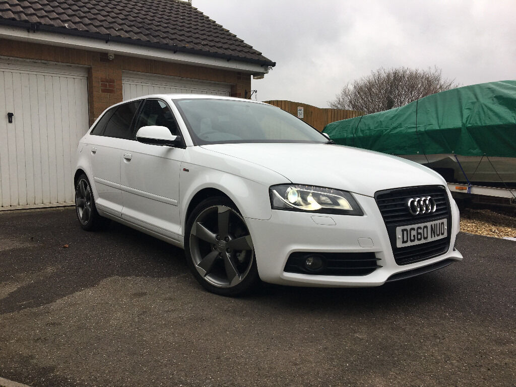 audi a3 black edition 2 0 tdi s line in chard somerset gumtree. Black Bedroom Furniture Sets. Home Design Ideas