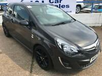 VAUXHALL CORSA 1.2 LIMITED EDITION 3d 83 BHP A GREAT EXAMPLE INSIDE AND OUT (grey) 2014