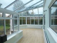 For sale White UPVC spacious conservatory, Viewing recommended for this item
