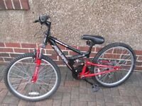 Childs Appollo FS 24 Mountain Bike in very good Condition