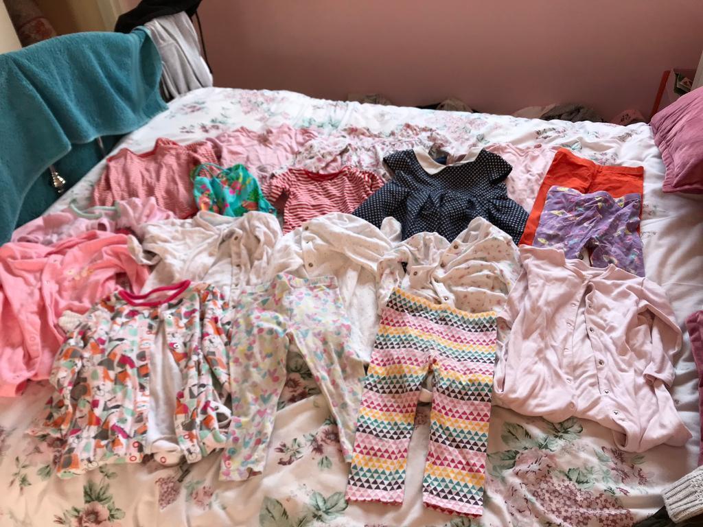 Girls' Clothing (newborn-5t) Girls Clothing Age 12-18 Months Baby & Toddler Clothing