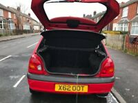Ford Fiesta 1.2 2000 low mileage