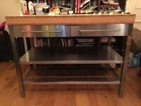 Ikea Kitchen Workbench (free standing unit)
