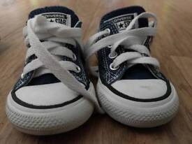 Baby size 4 converse
