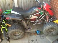 Yamaha blaster 200cc quad bike not raptor lt trx