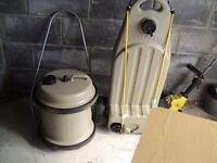 40lt aqua roll and waste master for caravan ,boat ect excellent condition