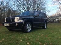 Jeep commander 4x4 off roader 7 seats mot'd full history family car