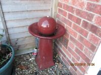 WATER FEATURE 28 inches height £40 O.N.O