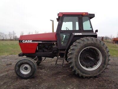 1989 Case Ih 2096 Tractor Cabheatair Powershift Cummins Diesel 4552 Hours