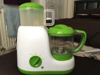 Baby steamer and blender