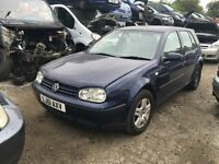 2001 GOLF SE AUTO ( PETROL)- FOR PARTS ONLY